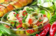 Salata greceasca cu iarba grasa