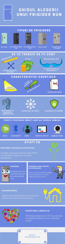 infografic alegere frigider
