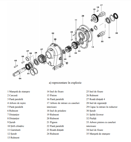 componente motoreductor